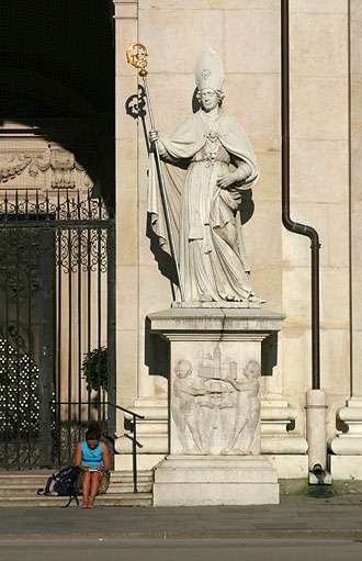 St. Rupert at Salzburger Dom Cathedral, Austria
