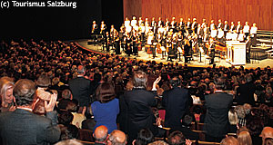 The Salzburger Festspiele, famous for concerts - but there are cheaper deals you can get.