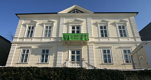 Galerie Thaddaeus Ropac in Salzburg is situated in the Villa Kast at Mirabell Palace.