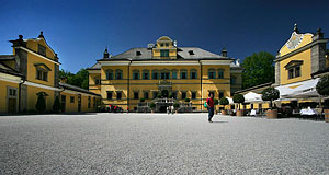 Hellbrunn Palace is only one of many palaces in Salzburg.
