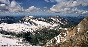 The highest mountains of Austria can be found in the National Park Hohe Tauern.