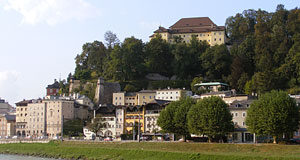 The Kapuzinerkloster is a monastery at a prominent position in Salzburg.