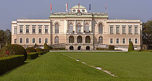 The Rococo palace of Schloss Klessheim is home to the casino of Salzburg.