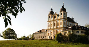 The church of pilgrimage of Maria Plain in the north of Salzburg, a great walk for a few quiet hours.