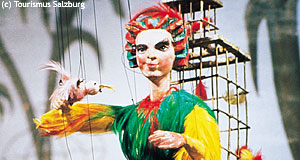 The Marionette Theatre of Salzburg is the most famous stage of its kind in Austria.