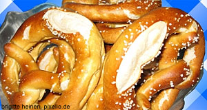Pretzels make a great snack - or a starter with beer.