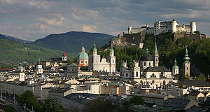 In a week, Salzburg can be seen in detail and all its glory.
