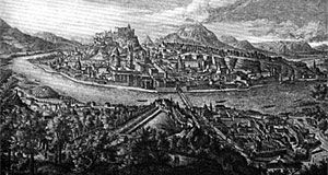 Salzburg in the 17th century.
