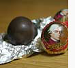 The famous Mozart Balls from the genius′ birthplace