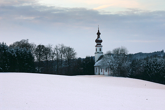 A Baroque church in rural Austria